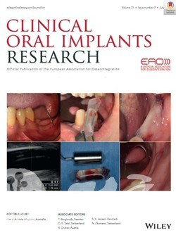 Clinical Oral Implants Research(IF: 3.723) Volume 31, Issue 7 표지