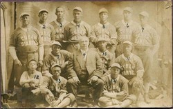 The first nationally known black professional baseball team was founded in 1885 / aminoapps.com